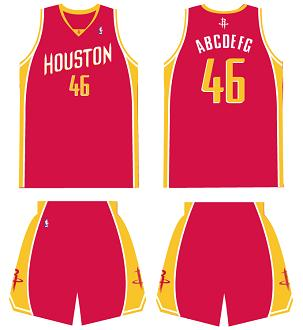 alternate houston rockets jersey