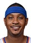 Carmelo Anthony playing with a sore shoulder