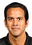 Heat coach Erik Spoelstra addresses the Seattle Seahawks