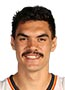 Steven Adams working on low-post game